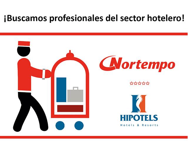 Nortempo seleccionará a 200 personas para dos hoteles de nueva construcción de la cadena Hipotels en Mallorca