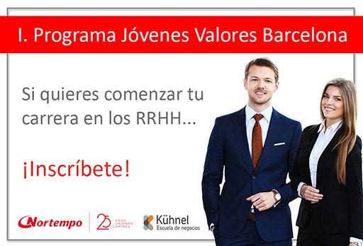 Lanzamos nuestro Programa Jóvenes Valores en Barcelona: ¡Te estamos buscando!