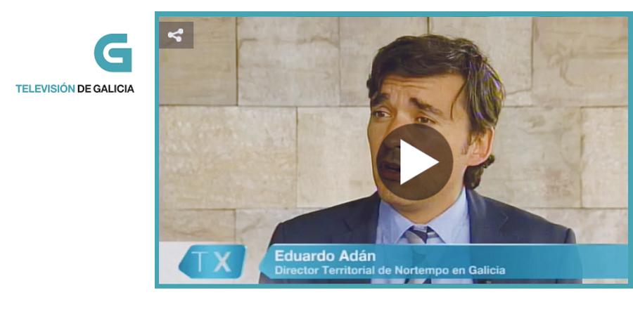 Eduardo Adán, director territorial de Nortempo en Galicia: «La especialización es clave, sobre todo en el sector industrial»