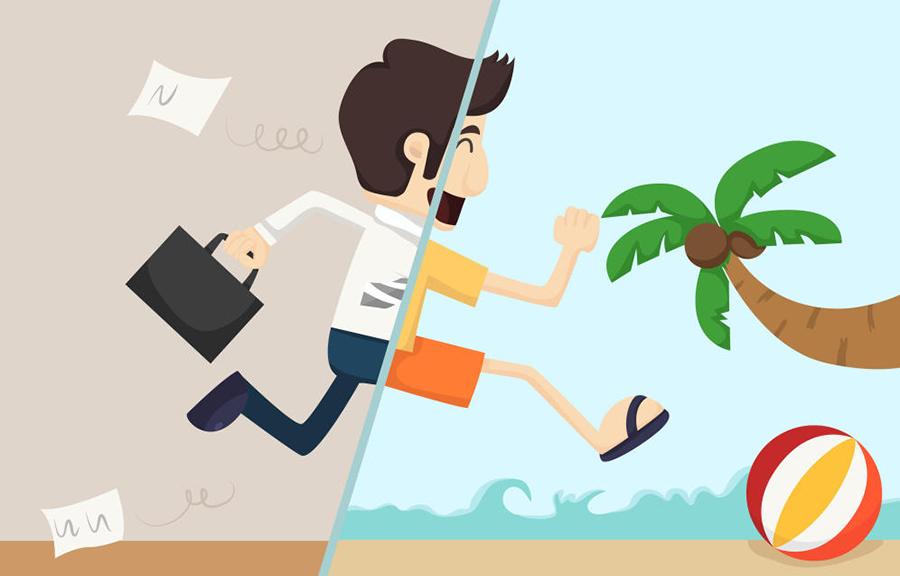 Las cinco claves para desconectar en vacaciones